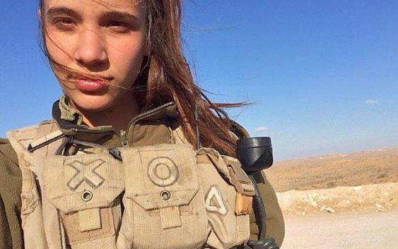 Красавицы армии Израиля