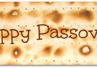 О чем в эти дни Песах?