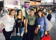 Діти та вдови загиблих бійців АТО прилетіли на відпочинок до Ізраїлю