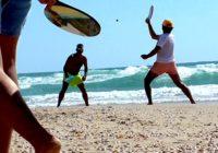 Разрисованные пляжные ракетки – это по-израильски