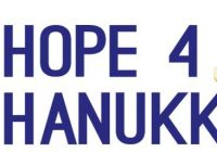 Hope4Hanukkah Annual Charity Campaign in Ukraine