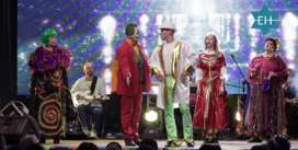 Пуримшпиль, еврейские танцы, хороводы и концерт. В Киеве масштабно отметили праздник Пурим