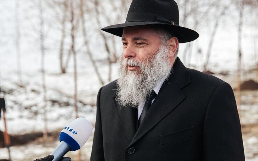 Главный раввин Киева, посланник Любавического реббе, Йонатан Маркович