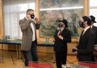 День Києва: Кличко отримав привітання від Головного рабина