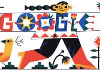 День вишиванки: doodle та єврейські мотиви