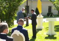 В'язень гетто і врятований з Бабиного Яру отримали президентські нагороди