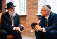 В день рождения основателей хасидизма посол Израиля подготовил к открытию крупнейший еврейский центр в Киеве